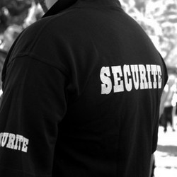 Agent de securite dos