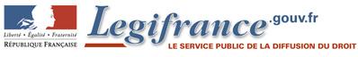 LégiFrance - Accueil